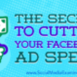 The Secret to Cutting Your Facebook Ad Spend