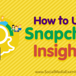 How to Use Snapchat Insights