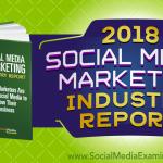 2018 Social Media Marketing Industry Report