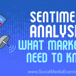 Sentiment Analysis: What Marketers Need to Know