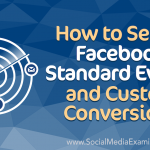 How to Set Up Facebook Standard Events and Custom Conversions
