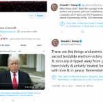 Twitter will reinstate Trump's account following his deletion of tweets