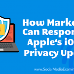 How Marketers Can Respond to Apple's iOS 14 Privacy Update