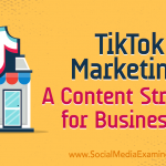 TikTok Marketing: A Content Strategy for Businesses