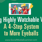 Making Highly Watchable Videos: A 4-Step System to More Eyeballs