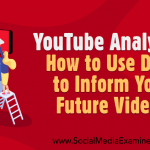 YouTube Analytics: How to Use Data to Inform Your Future Videos